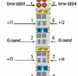 Analogowe wejścia prądowe KL3458