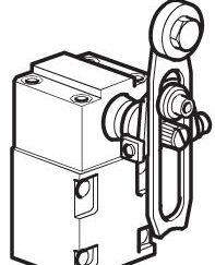 Zawór krańcowy z plastikową rolką 3/2 NC ·4mm