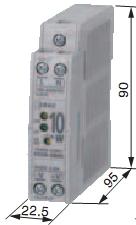 Zasilacz na szynę DIN 24V 15W 0