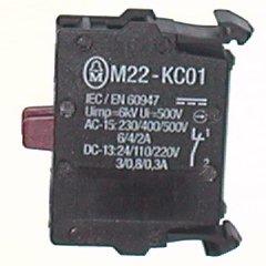 Element stykowy 1R   montowany do ścianki tylnej M22-KC01