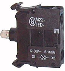 Wkładka M22-XD-S-X7 czarna kr. (->)