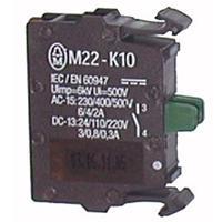 Element stykowy 1Z   montowany do płyty czołowej M22-K10