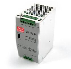 Zasilacz MEANWELL serii DR-120 24V 5A