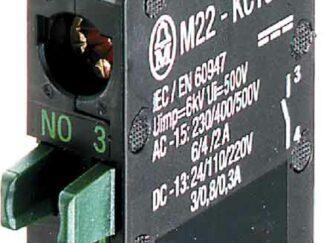 Element stykowy 1Z   montowany do ścianki tylnej M22-CKC10
