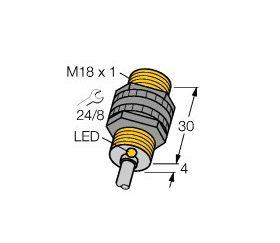 Czujnik indukcyjny BI5-P18-Y1X