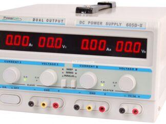 Zasilacz laboratoryjny potrójny 2x0-60V/2x0-5A + 5V/3A