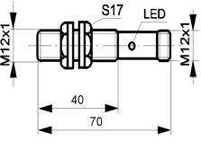Czujnik indukcyjny PCID4-RNW