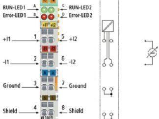 Wejścia analogowe prądowe KL3012