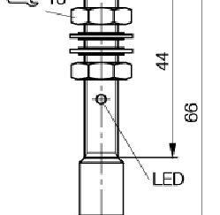 Czujnik indukcyjny BES M08MH1-PSC30B-S04