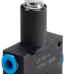Regulator ciśnienia LR-QS-6